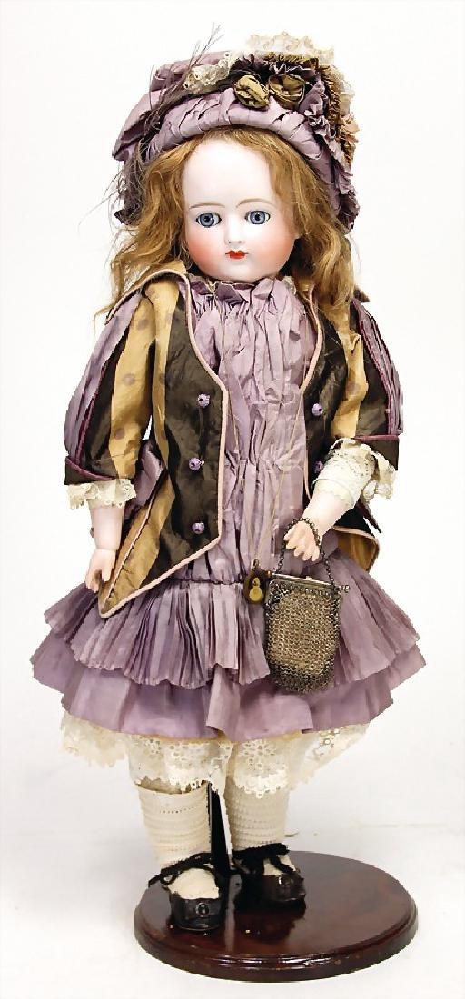 KESTNER doll with bisque porcelain shoulder headed, 52