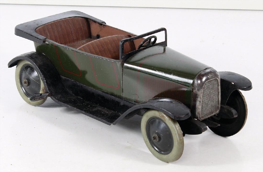 JEP Limousine, Frankreich, Blech, 21 cm, ca. 1930,