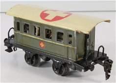 MÄRKLIN Spur 0, Lazarett-Wagen, 16 cm, altes