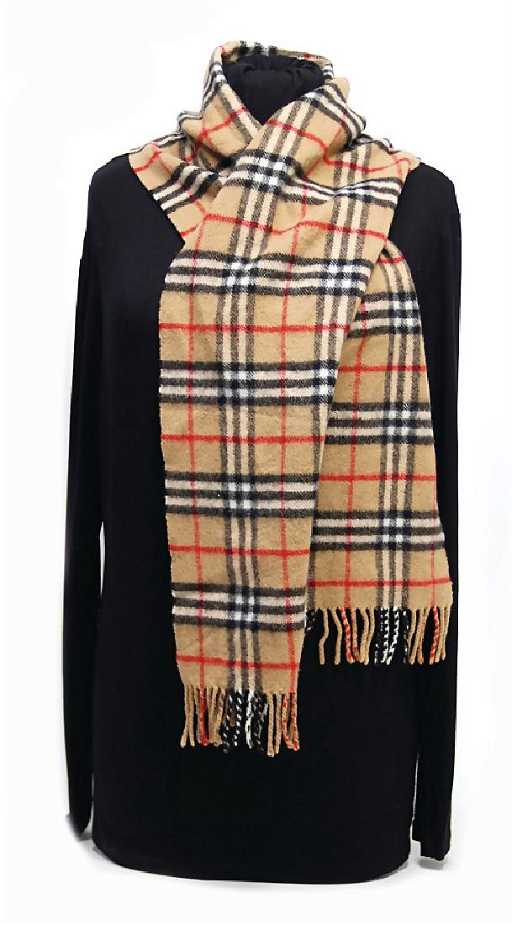 burberry schal lambswool check muster b 22 cm l - Schal Burberry Muster