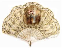 Fächer, ca. 1880-1890, Deutschland, Fä