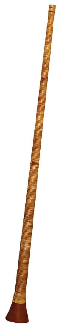 G alphorn, length without mouthpiece: 1.55 m,