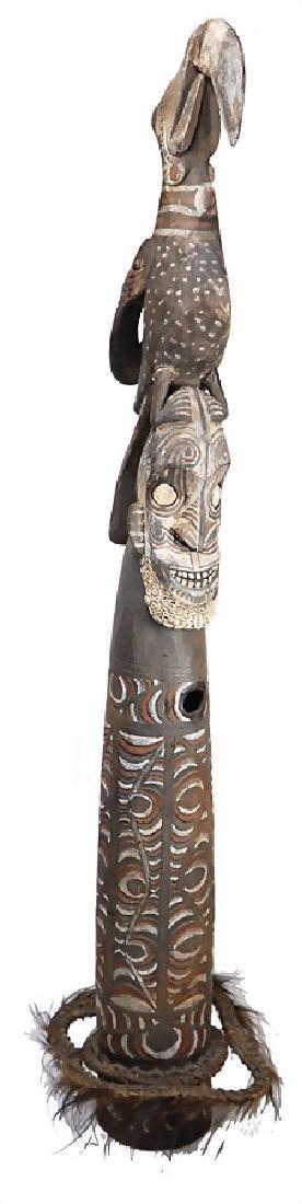 signal horn (transverse horn), New Guinea, Middle Sepik
