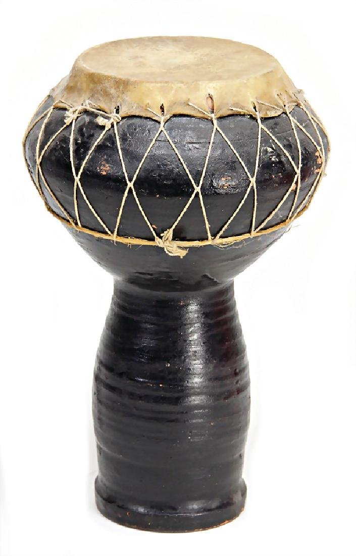 Tontrommel, Darabukka (goblet drum), black body ,