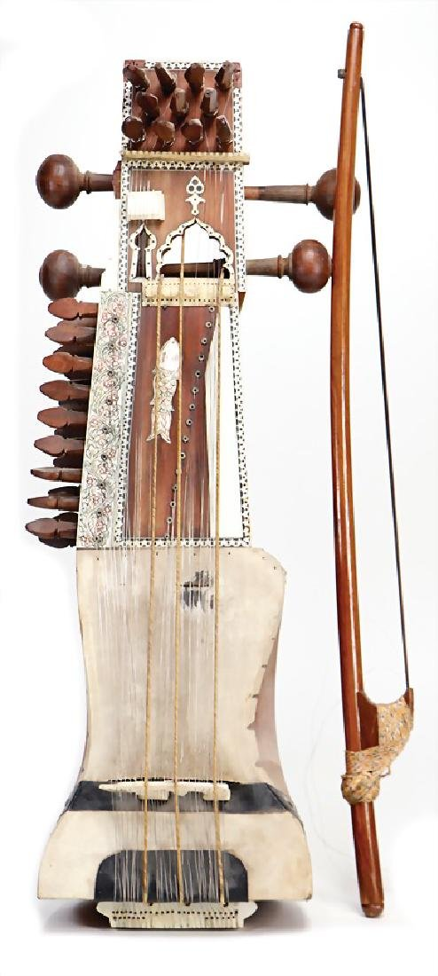Sarangi, Afghanistan, Indian bowed instrument with