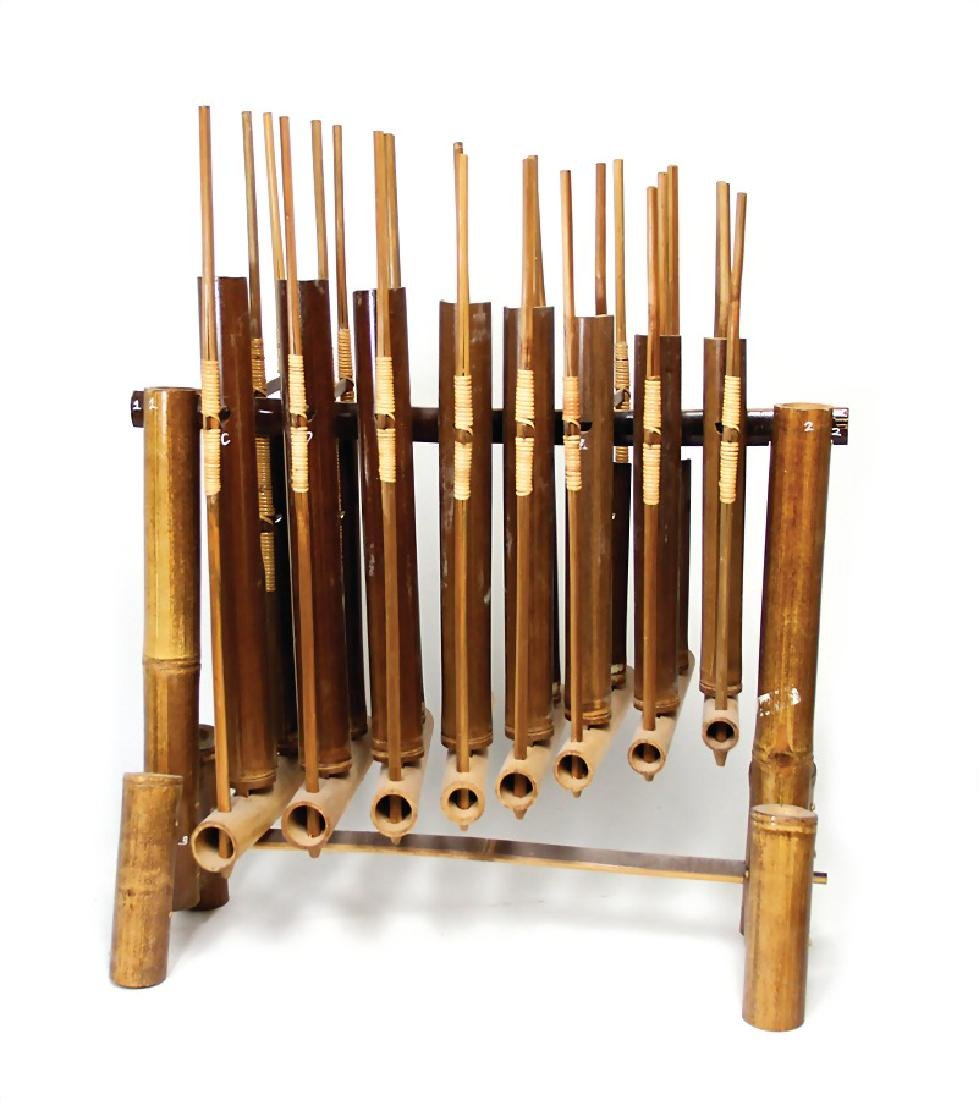 "angklung ""Batterie"", from Bali rattle idiophone, in a"