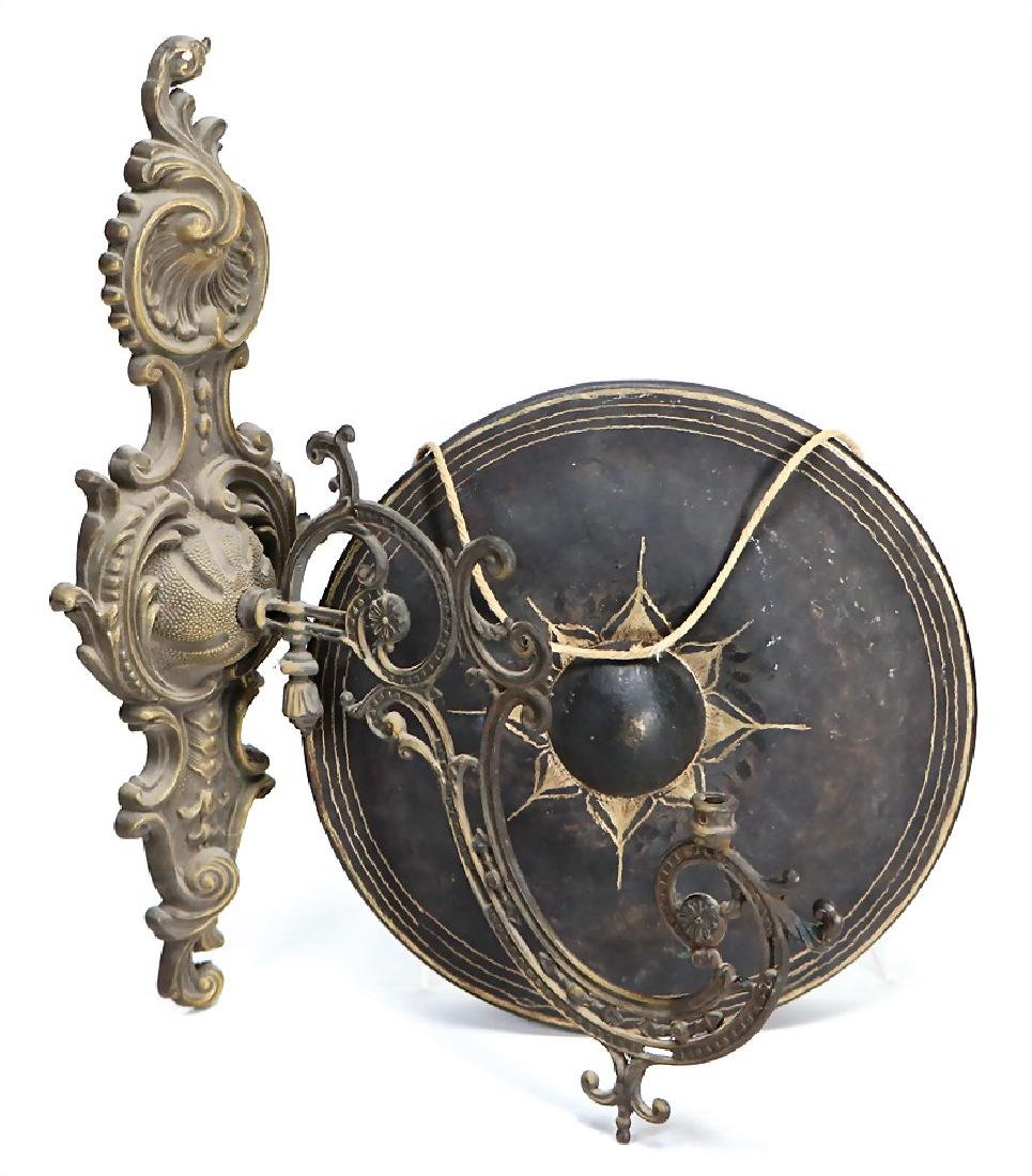 bell, button gong, from Thailand, 26 cm in diameter,
