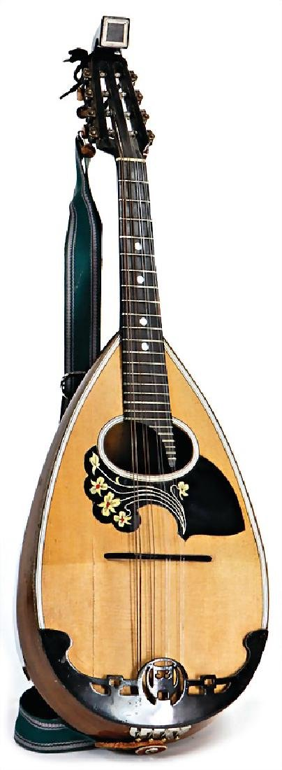 Mambuline Catania, 8 strings, wood, mother-of-pearl