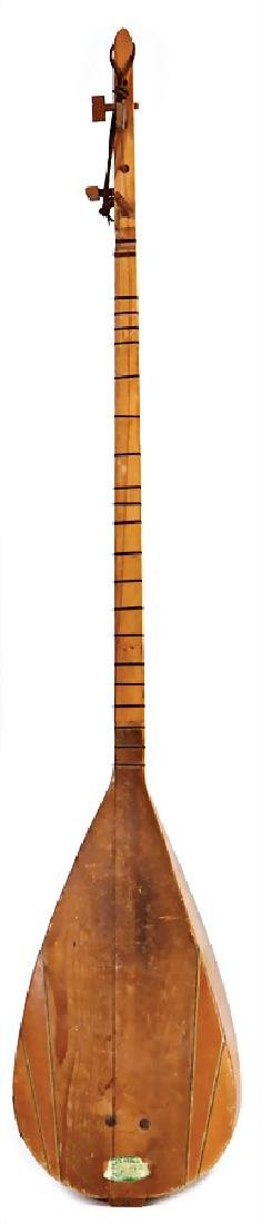 long-necked lute with 7 strings, Turkey, wood, 1.07 m,