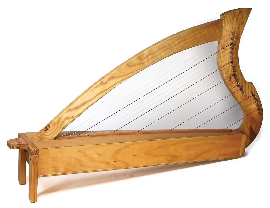 Celtic harp, 22 strings, 91 cm, age: c. 20 years,