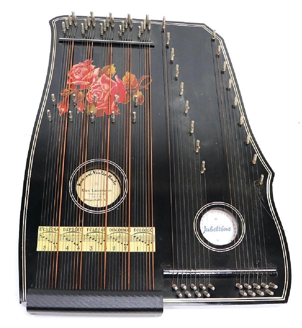 violin zither, (concert violin psaltery), Klingenthal,