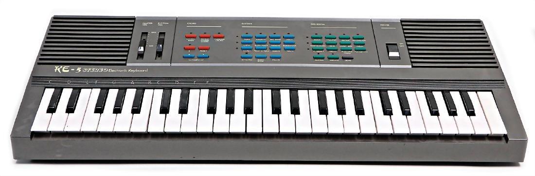 keyboard, KE-5, Stereo Electronic Keyboard #688#