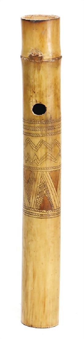 transverse flute (Nema-Buro), new Guinea, highlands,