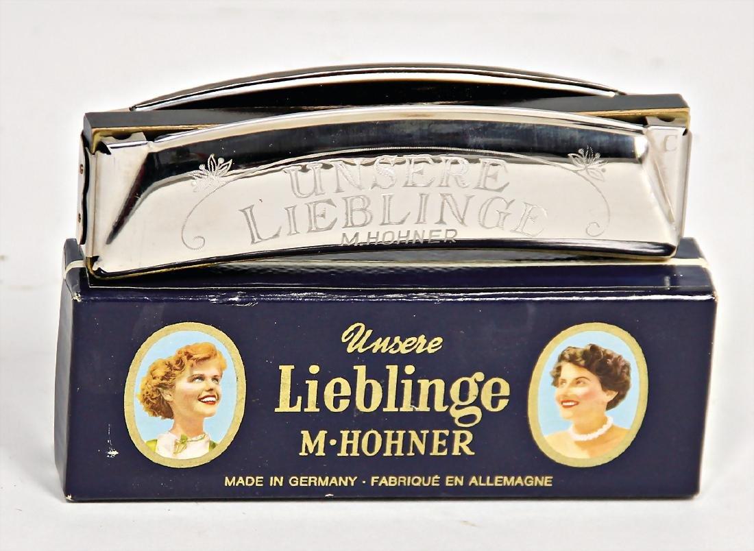 "HOHNER mouthorgan, ""Unsere Lieblinge"", c. 13 cm,"