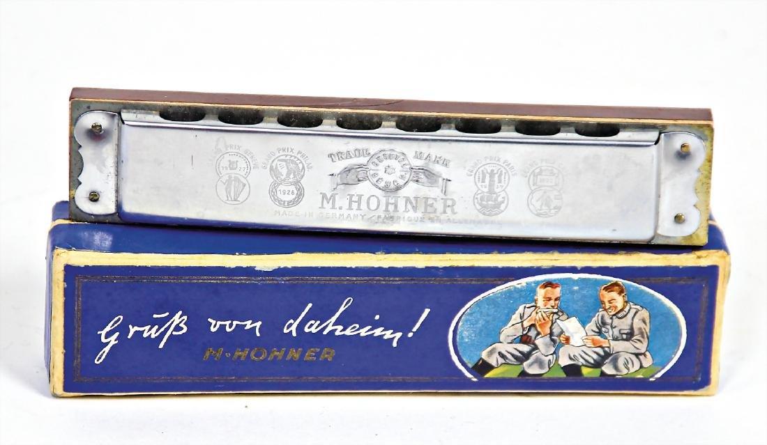 """HOHNER mouthorgan, """"Gruß von Daheim"""", condition 2, 14"""