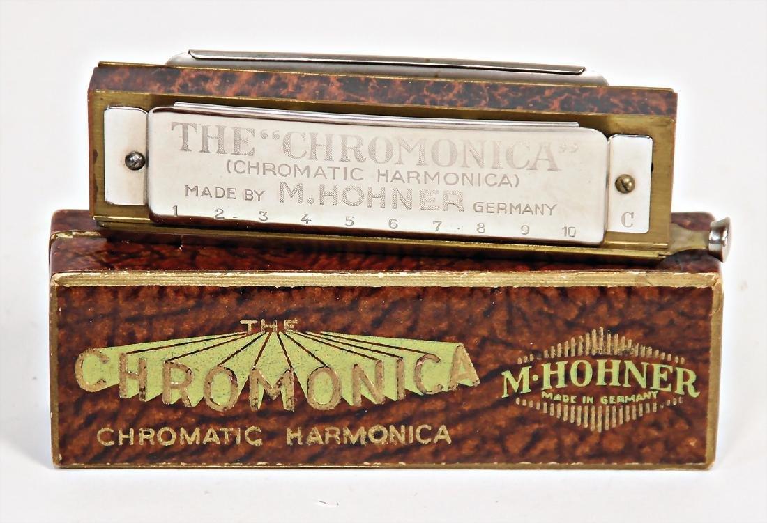 HOHNER mouthorgan, Chromonica, 13.5 cm, condition 1-2,