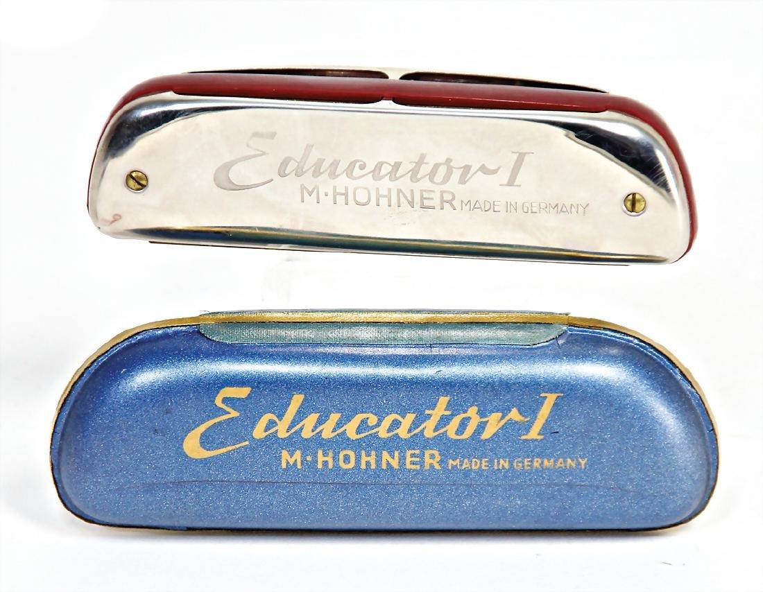 HOHNER mouthorgan, Educator, condition 2, in original