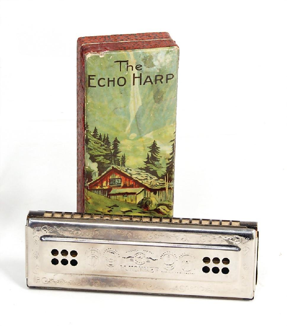 HOHNER The Echo Harp, 15 cm, probably from the '30s,