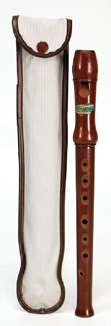 WALTHARI PRIMUS soprano recorder, with plastic cover,