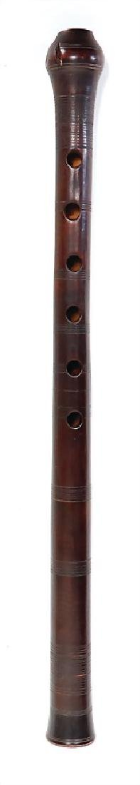 duct flute, Rumania, 6 front pitch holes, 1 thumb hole