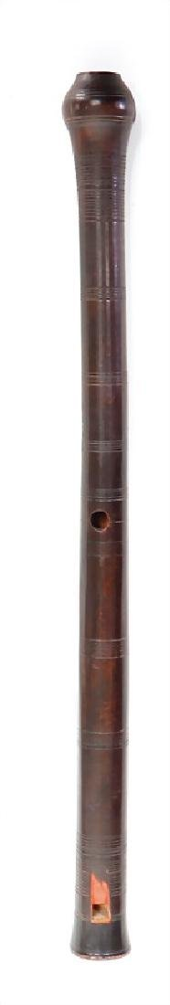 duct flute, Rumania, 6 front pitch holes, 1 thumb hole - 2