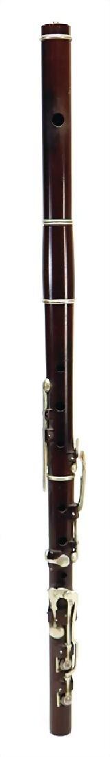 PEARSON THOMAS, LONDON transverse flute, made of
