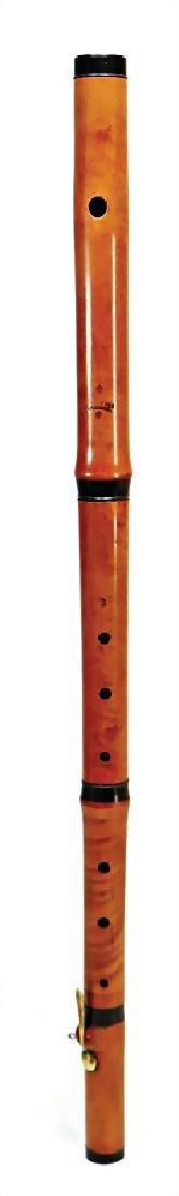 BERNHARD SCHOTT FILS, MAINZ transverse flute, made of