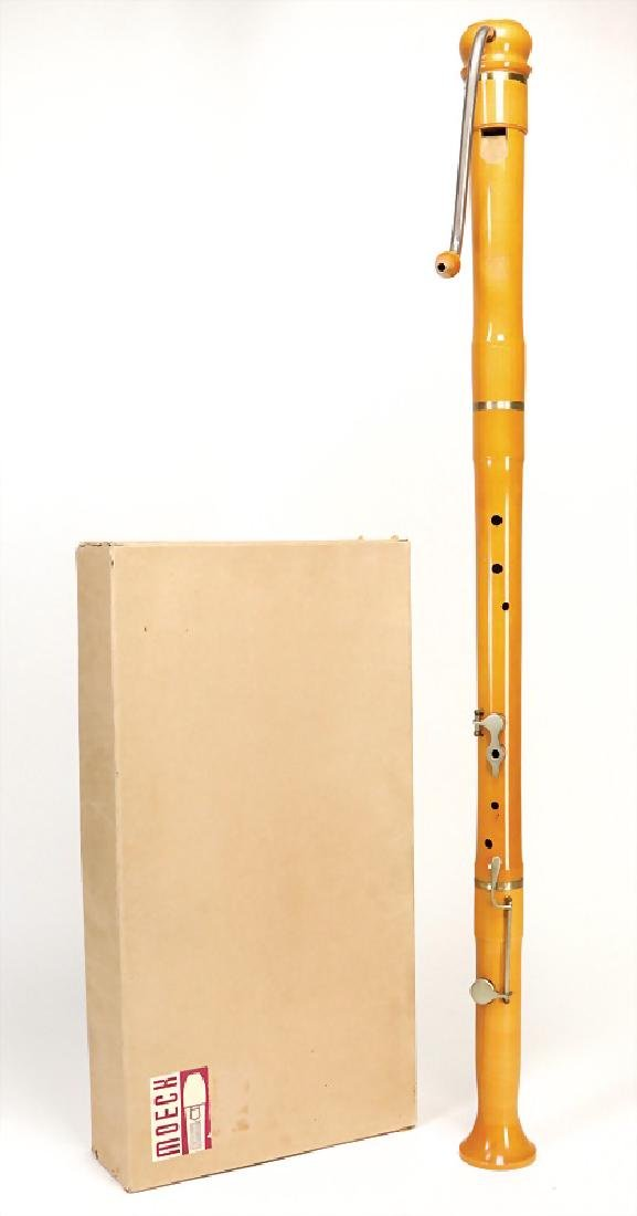 HERMANN MOECK in CELLE bass-recorder in f, with 2 keys