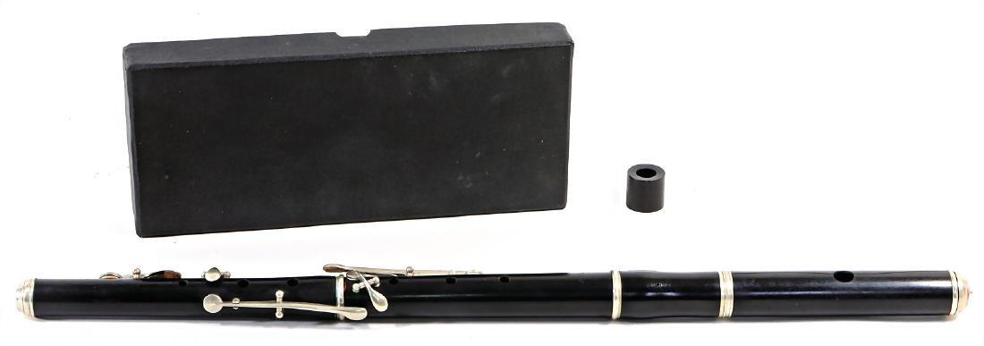 HUG & CO transverse flute, Zurich, c. 1870-80, in