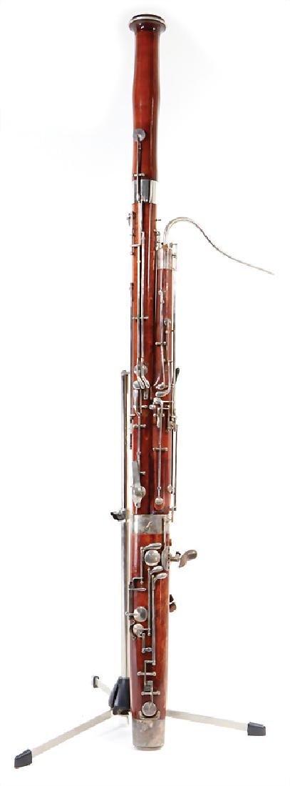 OSKAR ADLER bassoon, Markneukirchen, serial number