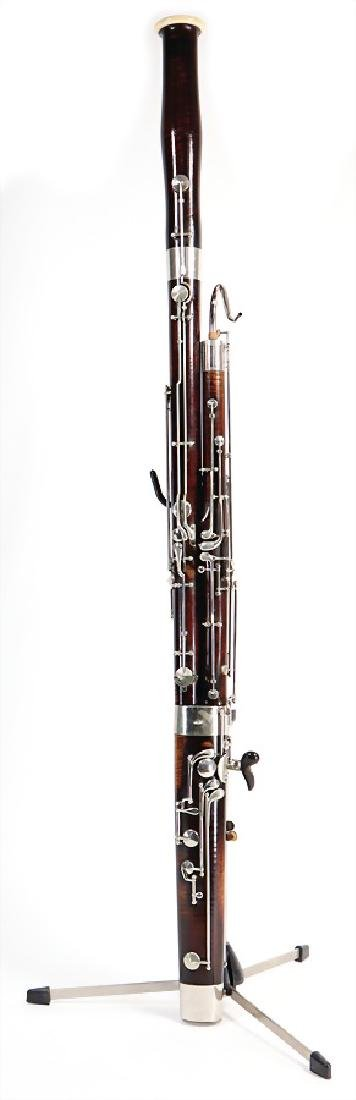 REINHOLT LANGE, WIESBADEN bassoon with suitcase and