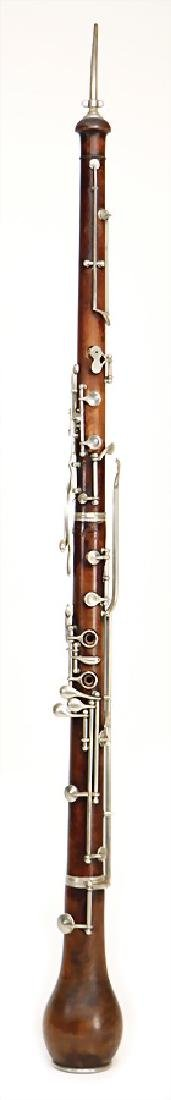 GHERARDI English horn made of maple, brown stained,