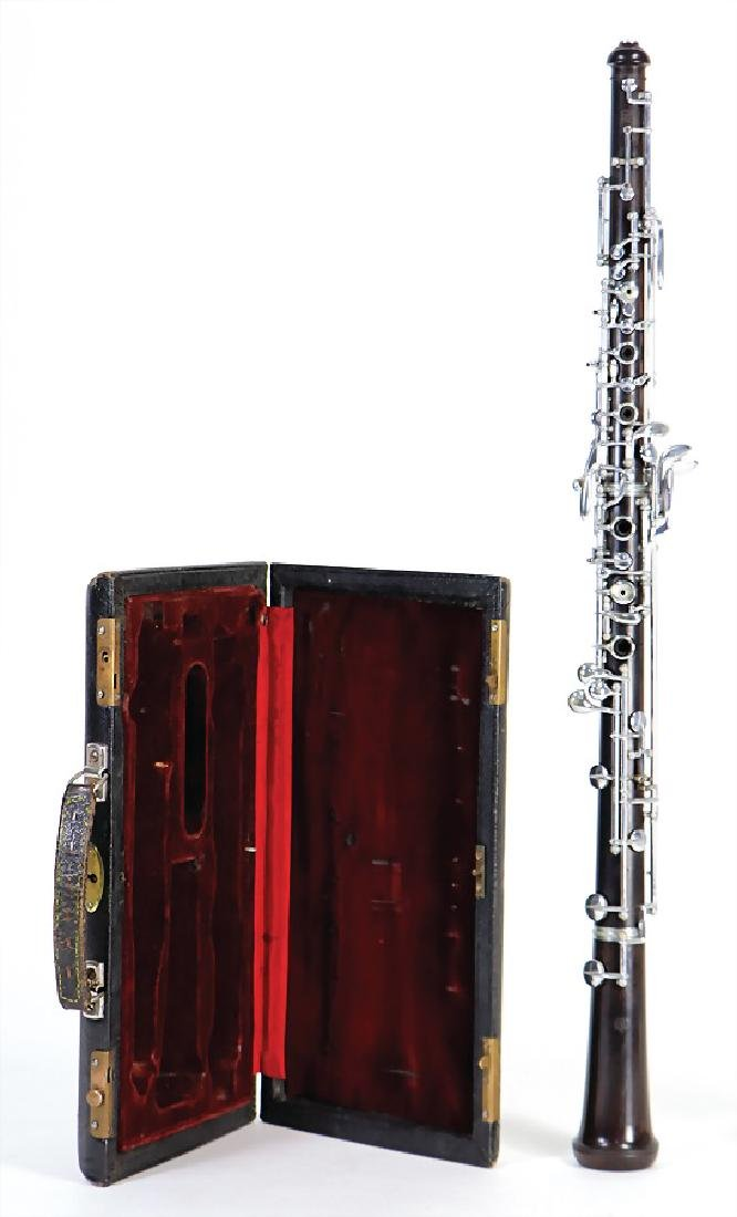 manufacturer is unknown, place is unknown, oboe, made