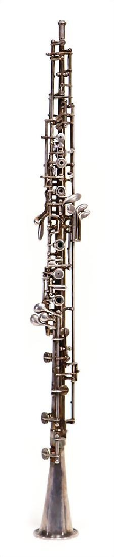 GEBRÜDER MÖNNIG, MARKNEUKIRCHEN oboe, made of metal,