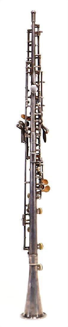 GEBRÜDER MÖNNIG, MARKNEUKIRCHEN oboe, made of metal, - 2