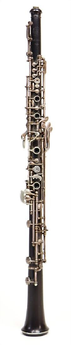 OTTO MÖNNIG, LEIPZIG oboe made of ebony or grenadilla,