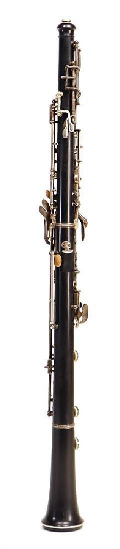 OTTO MÖNNIG, LEIPZIG oboe made of ebony or grenadilla, - 2