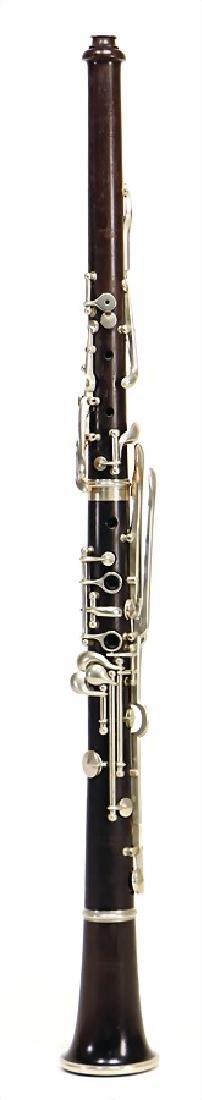 WENZEL KERN, BERLIN oboe, grenadilla, German system,