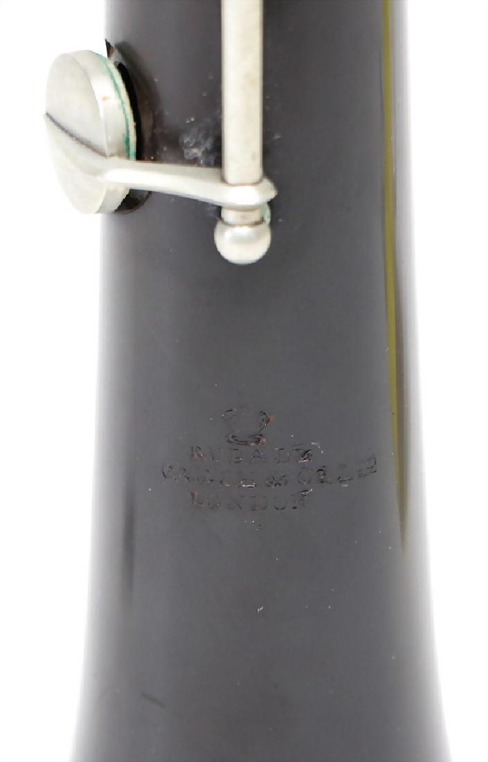 RUDALL & CARTE,LONDON oboe, made of plastic, black - 3
