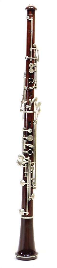 EUGEN ALBERT, BRUSSELS oboe, made of coconut wood,