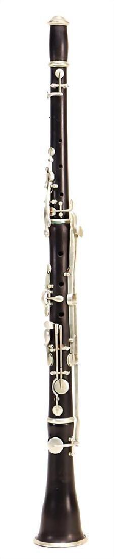 STECHER, WIEN oboe, made of coconut wood, black,