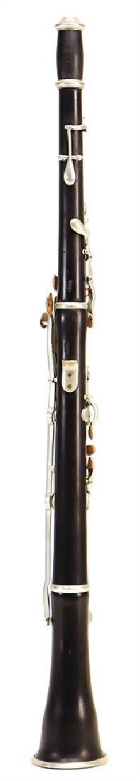 STECHER, WIEN oboe, made of coconut wood, black, - 2
