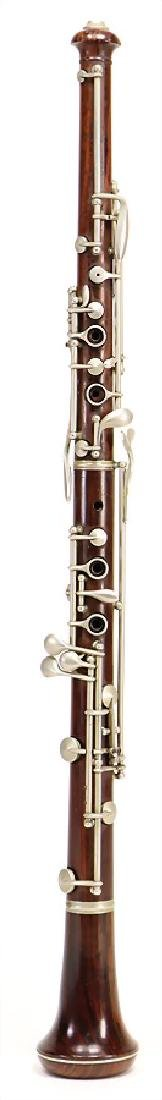 EVETTE & SCHAEFFER, PARIS oboe, made of coconut wood,