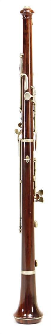 EVETTE & SCHAEFFER, PARIS oboe, made of coconut wood, - 2