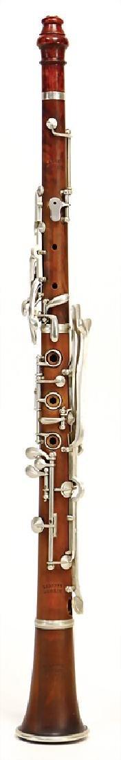 LEDERER oboe, made of boxwood, German system, 12 keys,