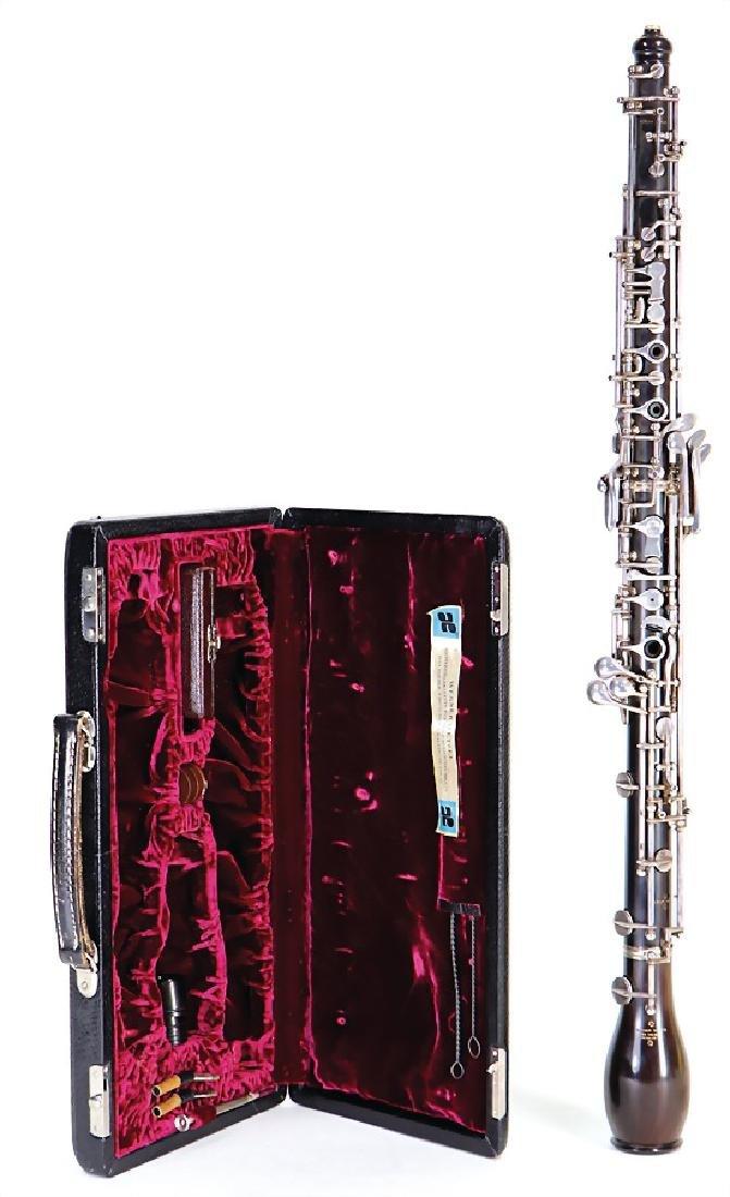 WERNER WETZEL, Munich Oboe d´amore made of grenadilla,