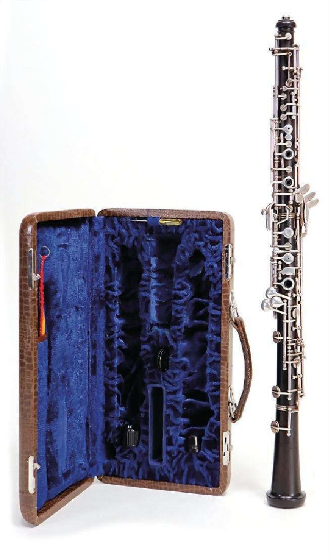 THEO MARKARDT, ERLBACH oboe, made of grenadilla, 59.4