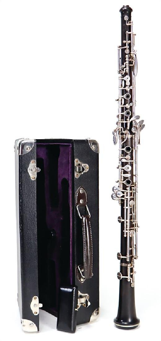 TRIEBERT serial number 61441, Paris, oboe, from the
