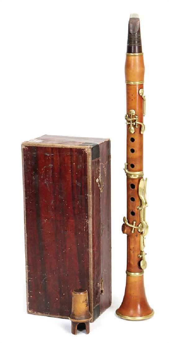GEORG JAKOB BERTHOLD clarinet in E-flat, made of