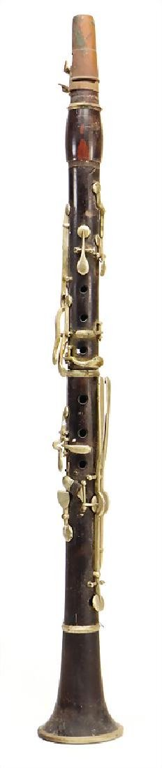 unsigned, clarinet in b, 13 keys, 19th century, lenght